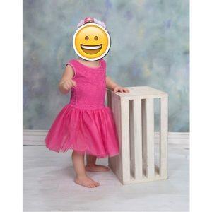 Barbie Toddler Girl Pink Dress